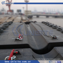 steel construction platform for dredging and marine construction(USA-2-003)